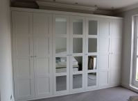 Fitted wardrobe with shaker mirror doors | Closets ...