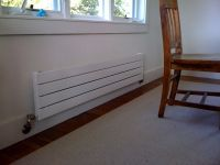 Hydronic Radiant Wall Panels   good solution for ...