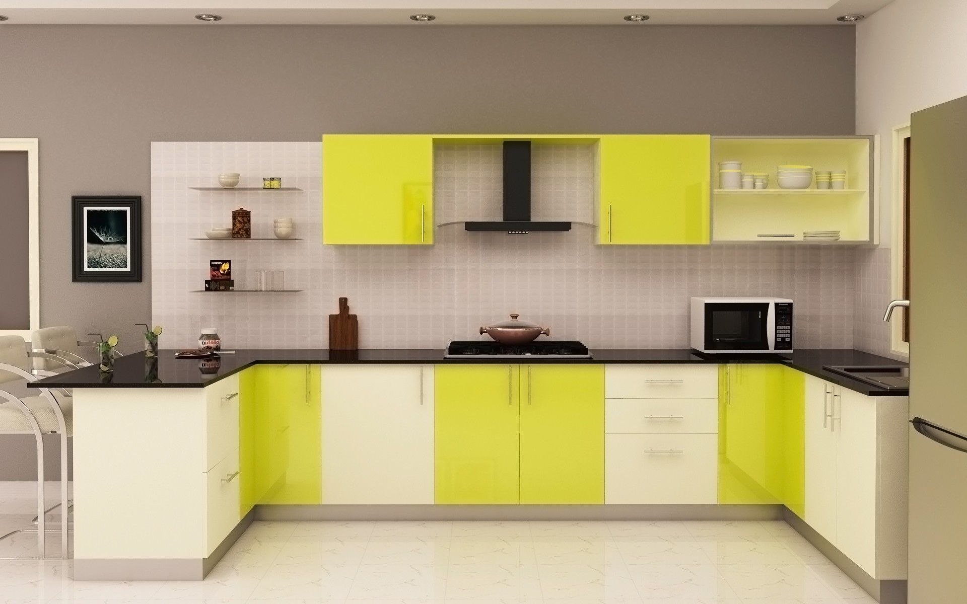 Lime Green Cabinets Tips To 39green 39 Your Kitchen Mopfrog The