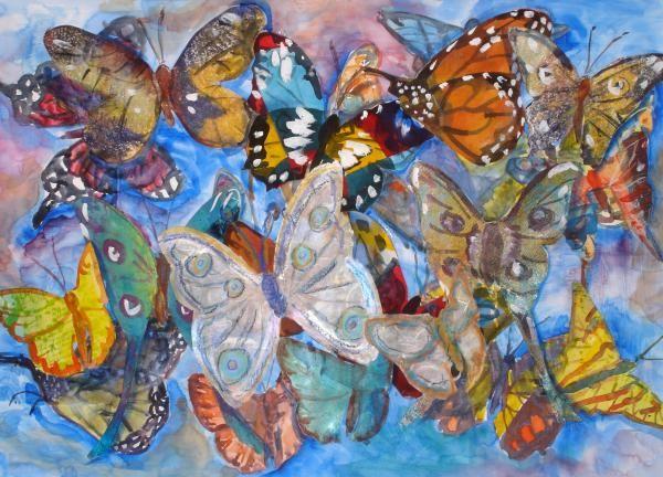 Brillantes Mariposas De Imagenes Animadas