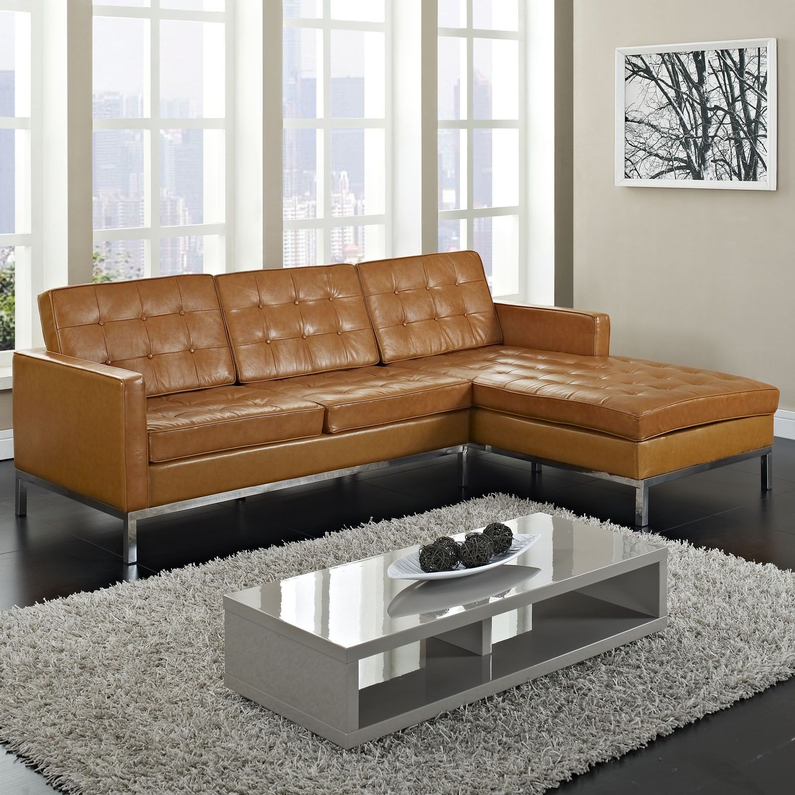 ■sleeper sofa Understand Leather Sectional Sleeper Sofa