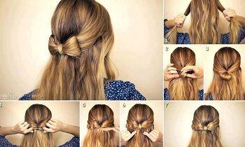 Einfache Frisuren Für Lange Haare Bilder 2015 Haare Schminke
