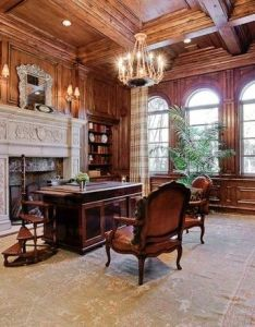 Mediterranean home office design pictures remodel decor and ideas page also rh pinterest