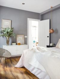 grey bedroom walls | Relaxing Bedroom Design | Pinterest ...