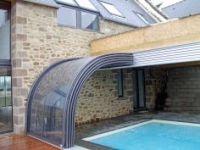 Pool Ideas: Indoor/Outdoor Retractable Pool Enclosure/ Sun ...
