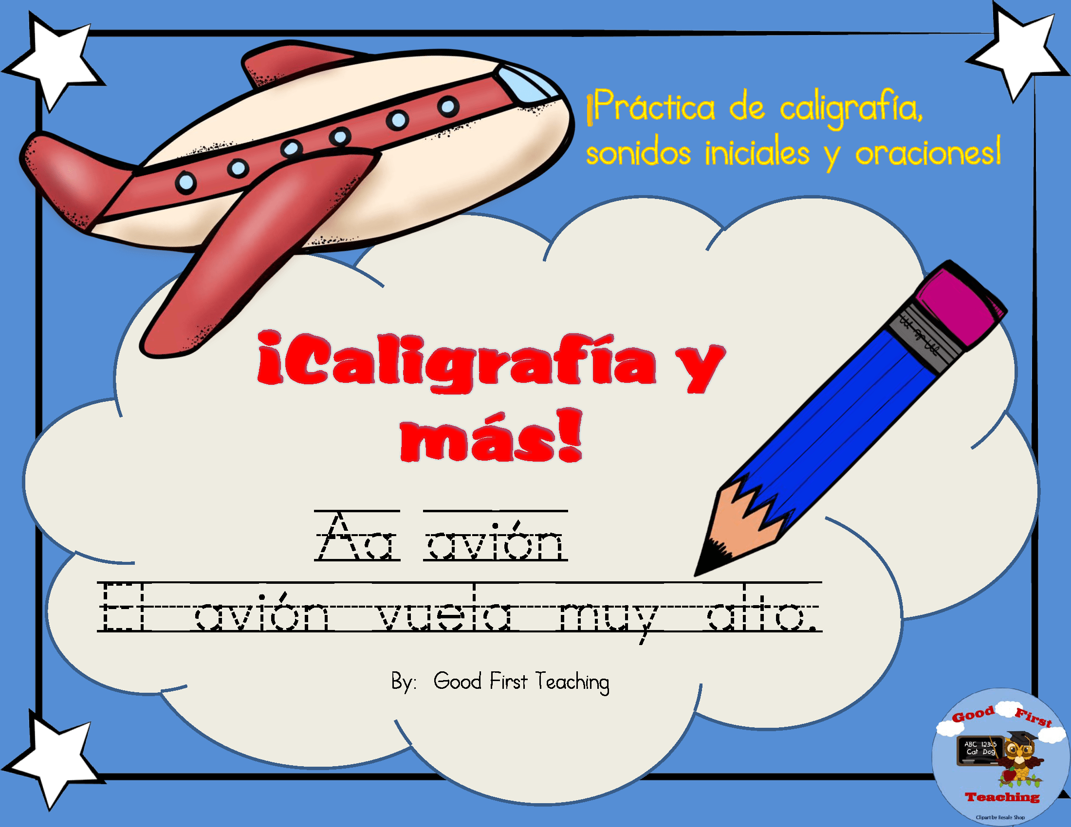 Caligrafia Y Mas Spanish Handwriting Sheets Using Spanish Alphabet