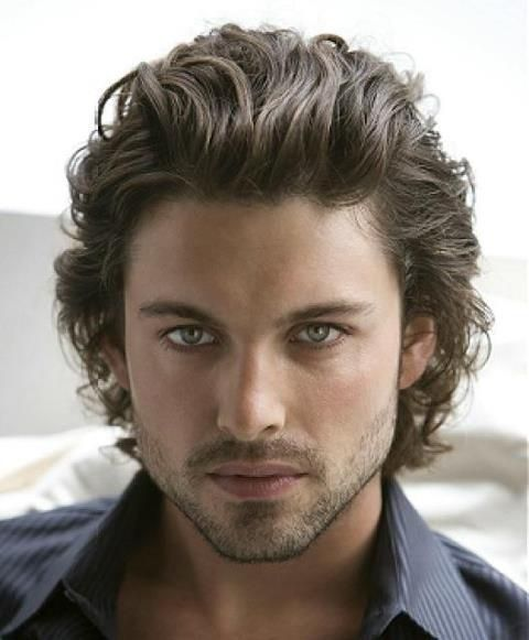 Mens Hairstyles Long And Wavy Hair Man Favimages Stylealways