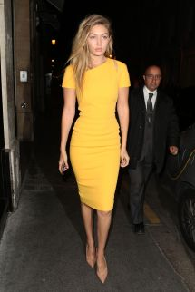 What to Wear with Mustard Yellow Dress