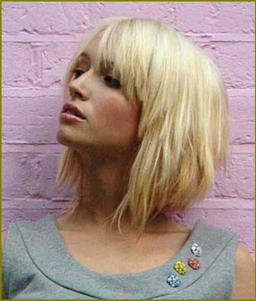 Blonde Bob Frisuren Mit Pony Neue Frisuren 2015 Cool Blonde