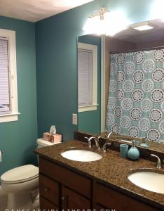 Interior design green bathroom color ideas with curtain home colour combinations also paint pictures intended for small colors rh pinterest