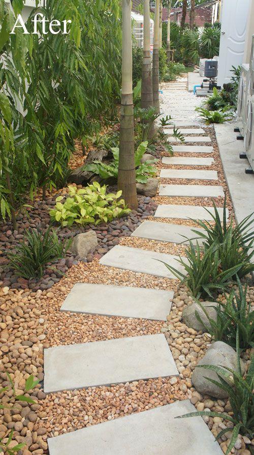 Convert Your Building Site Into A Low Maintenance Pebble Garden