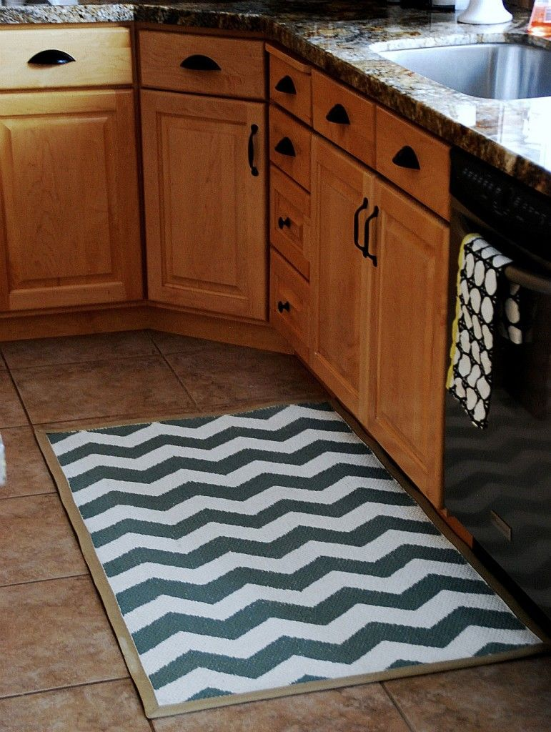 blue and white kitchen rugs  Google Search  Copper and