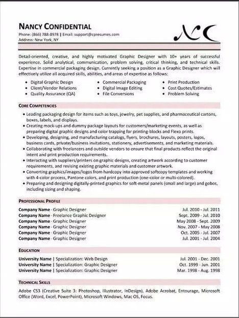Best Resume Template Forbes Simple Resume Template Pinterest
