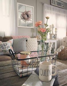 rustic farmhouse living room decor ideas also rh pinterest