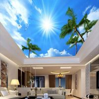 Custom Photo Wallpaper 3D Living Room Bedroom Ceiling ...