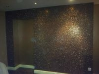 Step by step to adding glitter wall paint. Make Purchase