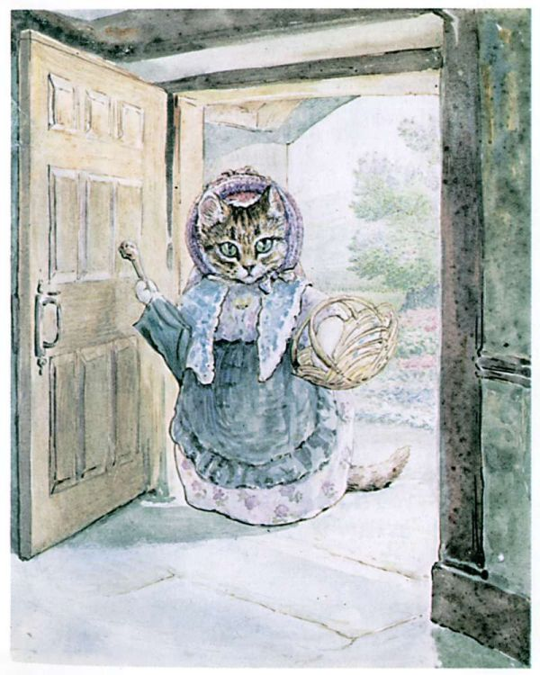 Tale Of Samuel Whiskers - Cousin Ribby Door
