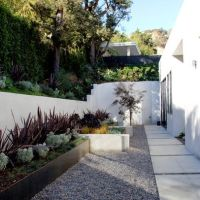 Modern Retaining Wall Design Ideas, Pictures, Remodel, and