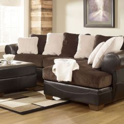 Ashley Sectional Sofa Set Elliot Fabric Microfiber Queen Sleeper Bed Furniture Sectionals Victory