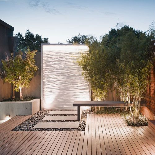 Garden Captivating Outdoor Water Walls Design Ideas With Fancy