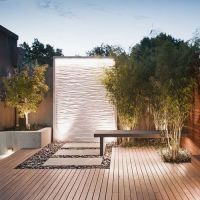Garden, Captivating Outdoor Water Walls Design Ideas With ...