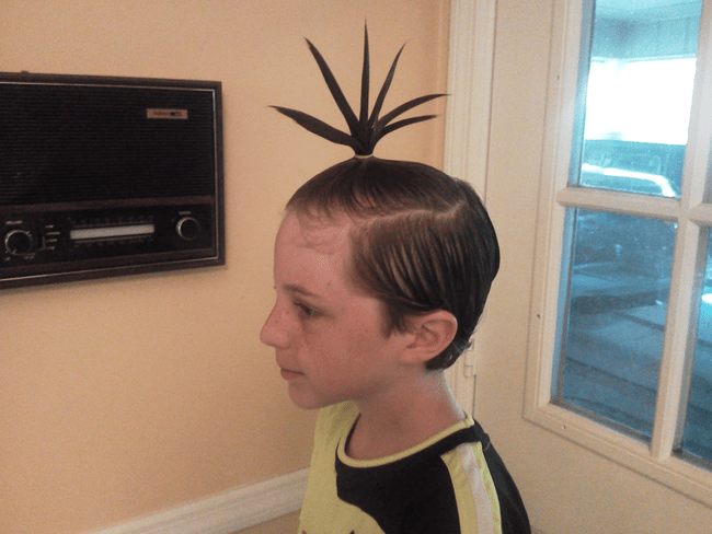 """7 What? The """"chicken Foot"""" Hairstyle Is So In Not For Me"""