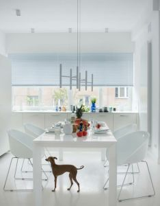 Modern apartment with simple design in white proper home also rh pinterest