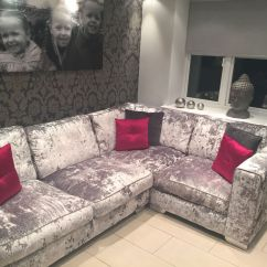Sofa In The Kitchen Corinthian Furniture Reviews Silver Crushed Velvet Couch Dream Houses