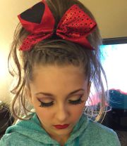 perfect cheer hair and makeup