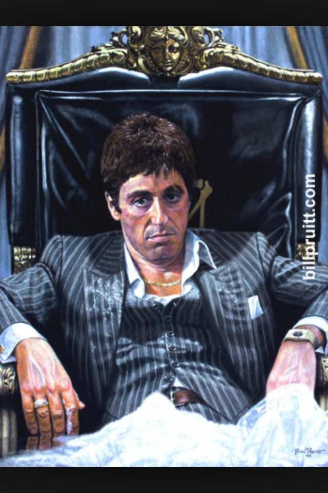 Tony Montana  POWER!!  Pinterest  Montana and Movie
