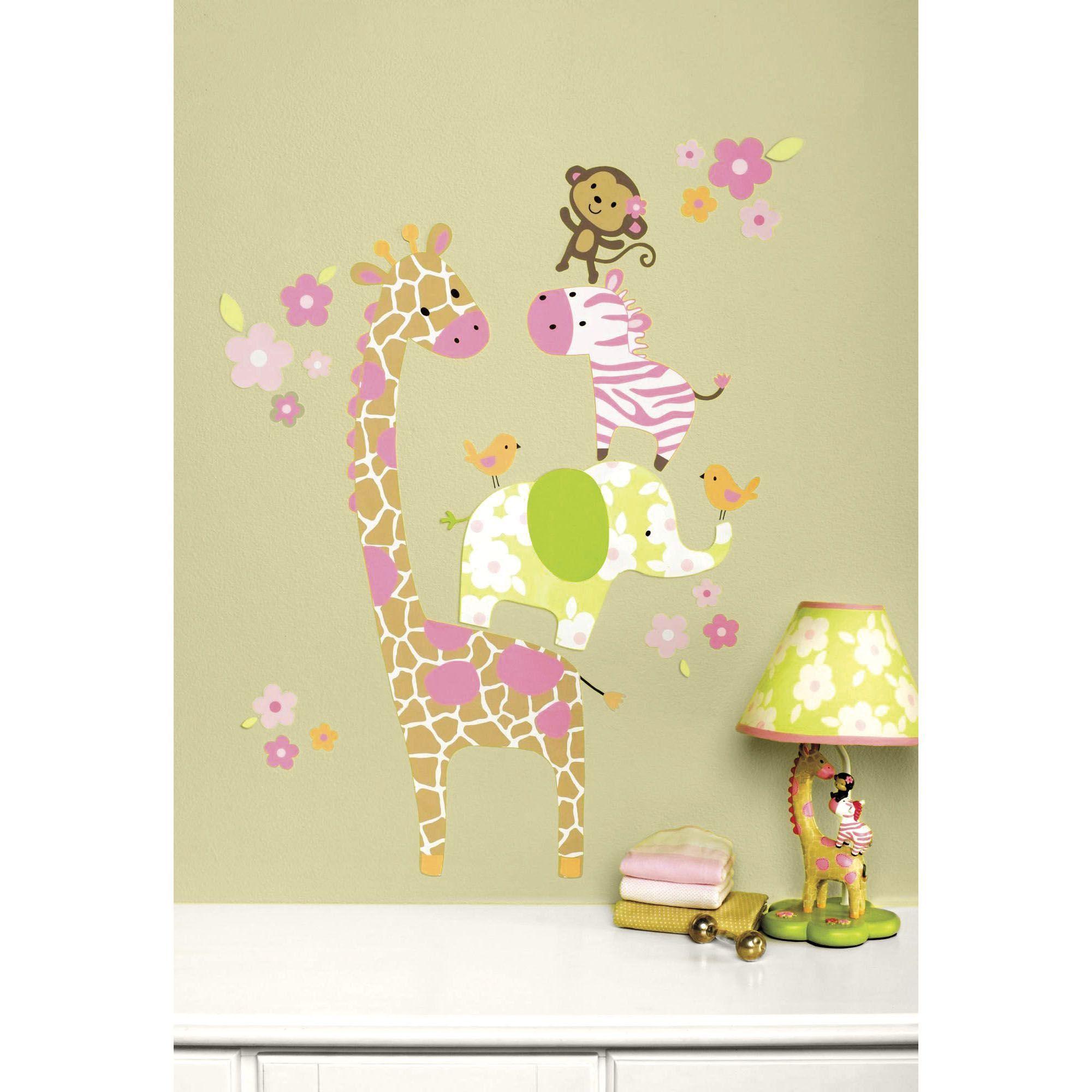 Jungle Jill Wall Art - carter s jungle jill baby shower invitation ...