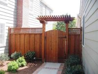 Wood Fence Gate Designs for Your Garden Plans wood fence ...