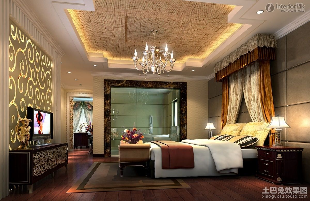 Amazing Ceiling Decoration #4 Bedroom Ceiling Decorations