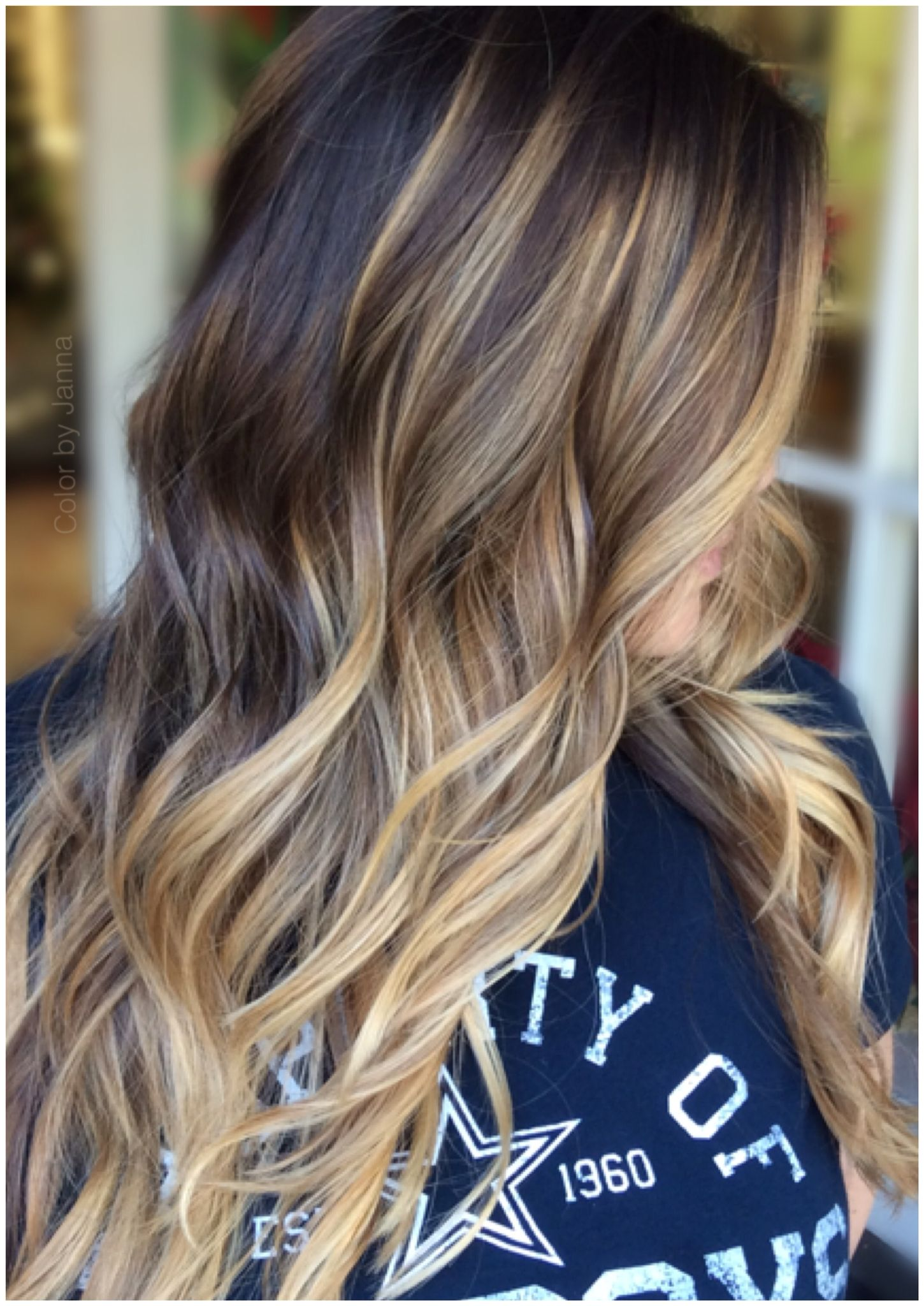 Balayage free air developing no foils fted to perfection no