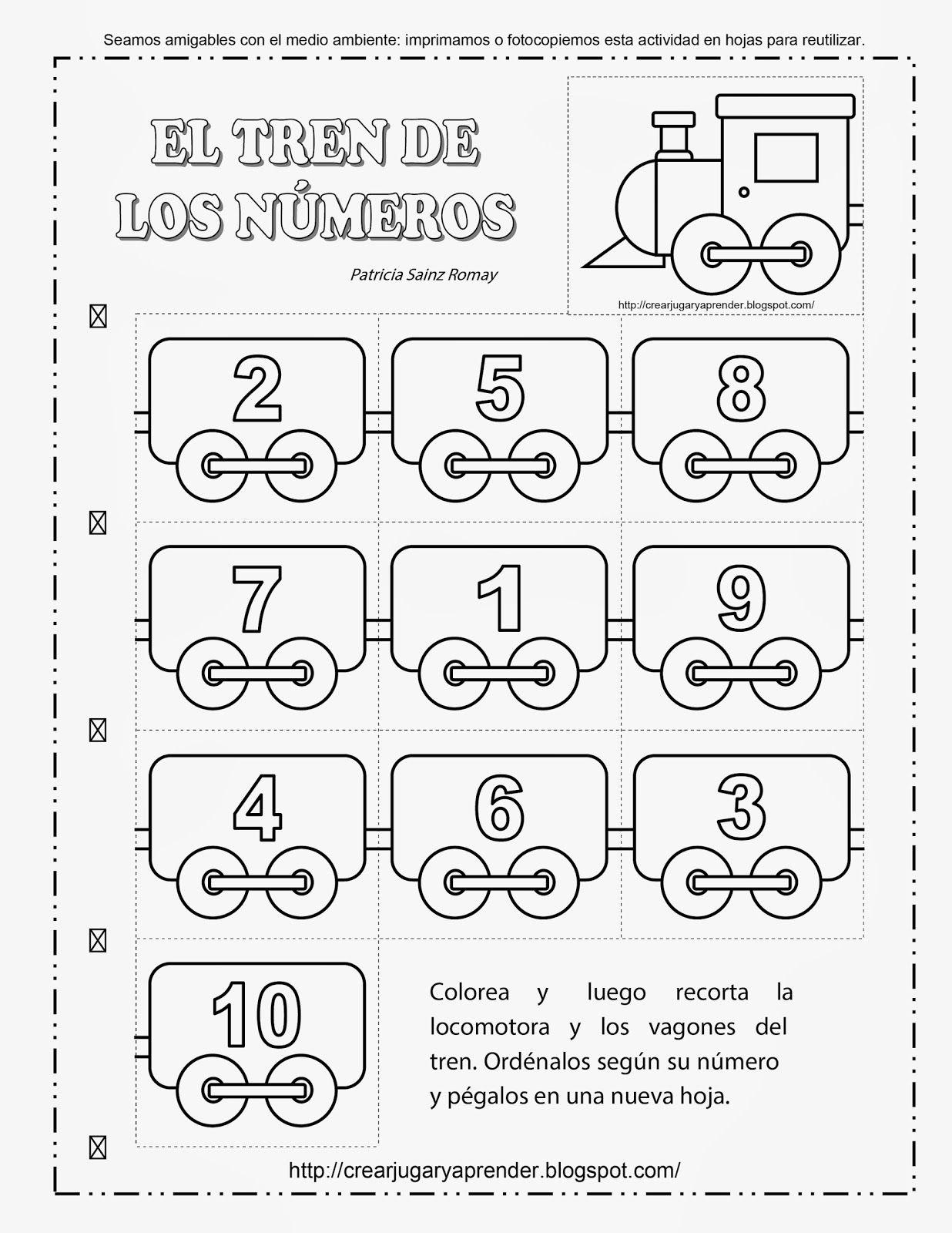 Tren De Los Numeros