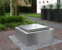 self contained contemporary water feature fountain ...
