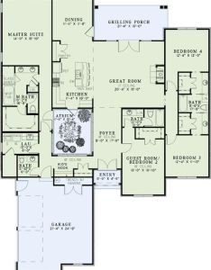 House plan  would get rid of the atrium and make that formal dining room pantry bigger perhaps on side where is also greenhouse off your kitchen cut mbr left move rh pinterest
