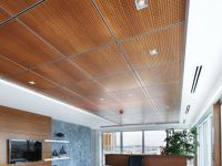 wood panel drop ceiling | Dropped ceiling ideas ...