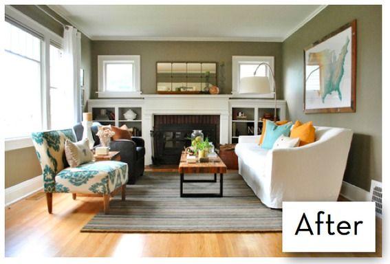 Awesome Diy Living Room Makeover On A Budget Conceptstructuresllc Com