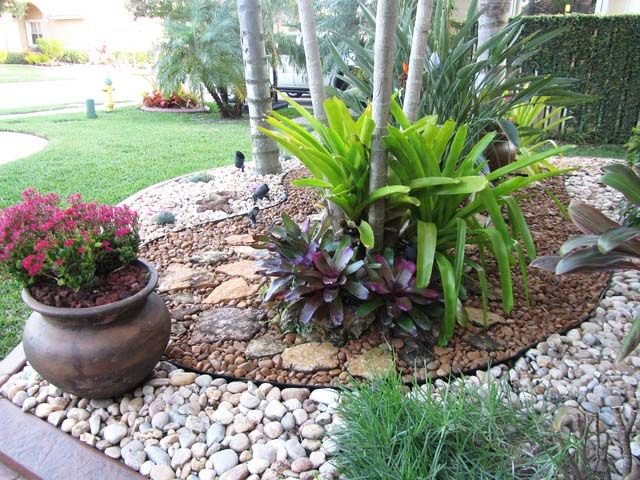 Garden Design Ideas Landscape Cottage Flower Rock Pond