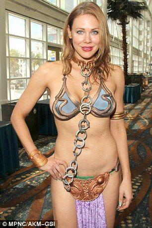 Epicstream Cosplay Pinterest Slave Leia Costume