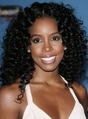kelly rowland curly hairstyles