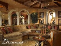 mediterranean furniture style living room - Google Search ...