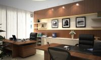 Modern style Director room interior design decorating ...