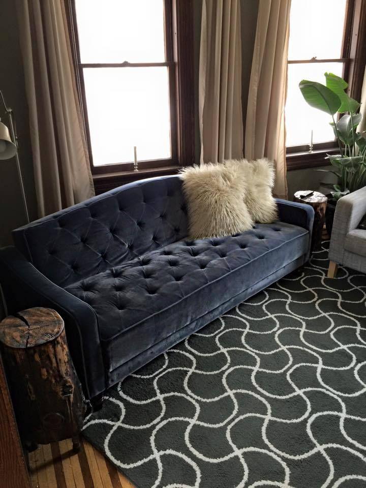 white tufted sofa bed karlstad 3 seater malaysia http://www.walmart.com/ip/9-by-novogratz-vintage-tufted ...