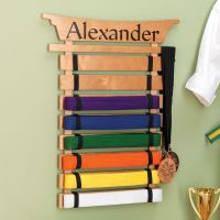 The perfect way to display Martial Arts belts