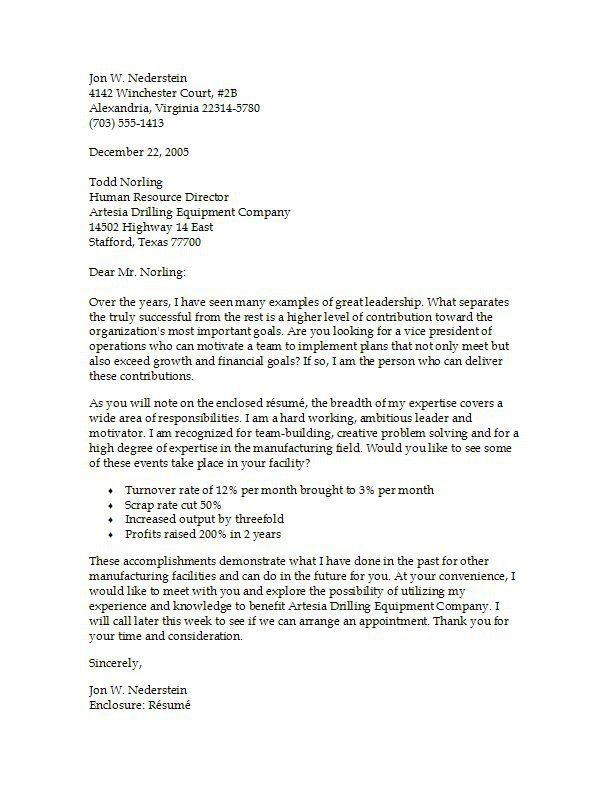 Examples Of A Resume Cover Letter] Resume Cover Letter Free Cover