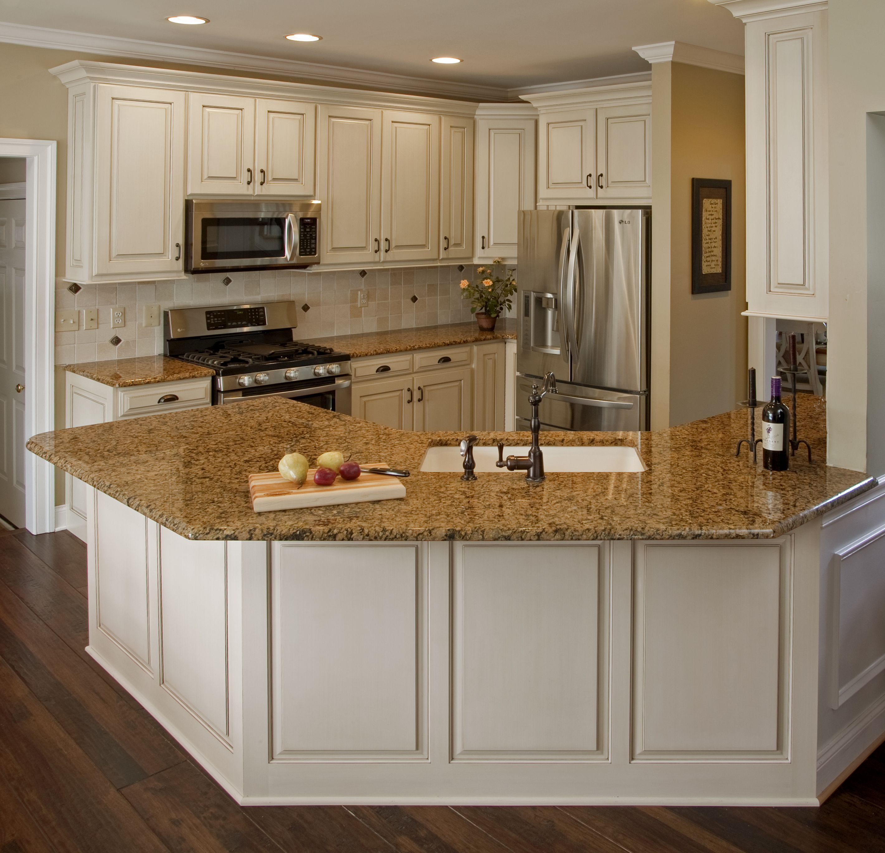 Inspiring Kitchen Decor Using Cabinet Refacing Cost On