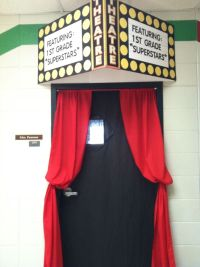 Hollywood Themed classroom door | Things I've made ...