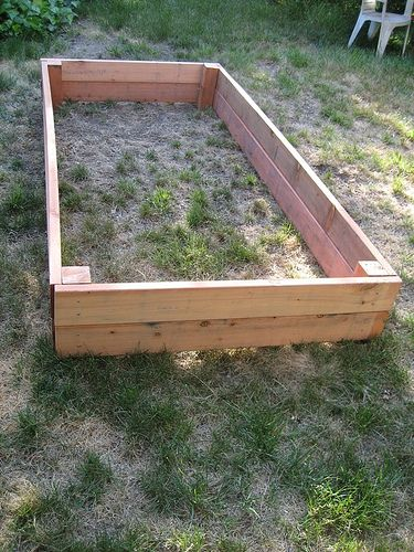 DIY Build Your Own Garden Box Gardens Raised Beds And Bottom